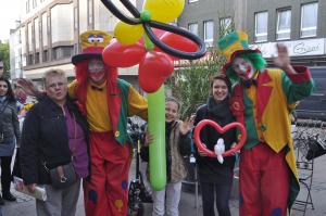 Clown August und Clown Pippy in Duisburg